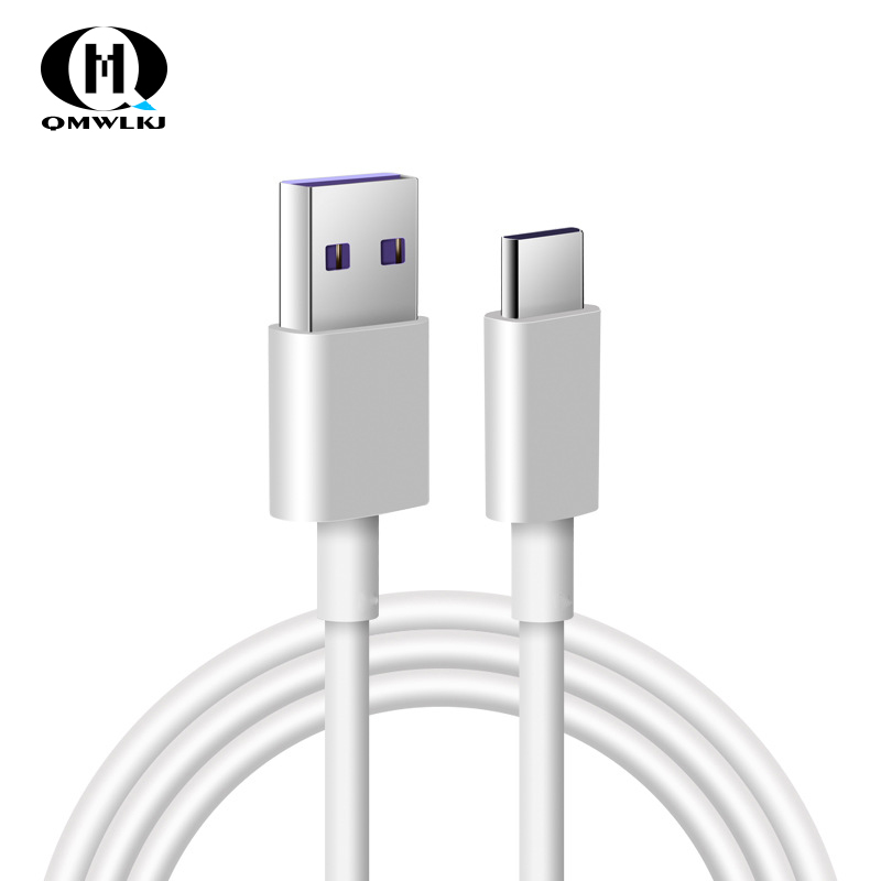 5A USB Type C Cable For Huawei P20 Lite Honor 10 9 Pro Fast Charging Data Cord Phone Charger Samsung S9 Redmi Note 7-in Mobile Phone Cables from Cellphones & Telecommunications