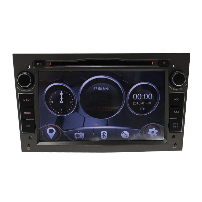 2Din Radio Car DVD Multimedia Player Fit for Opel Vectra Corsa D Astra H Steering Whee