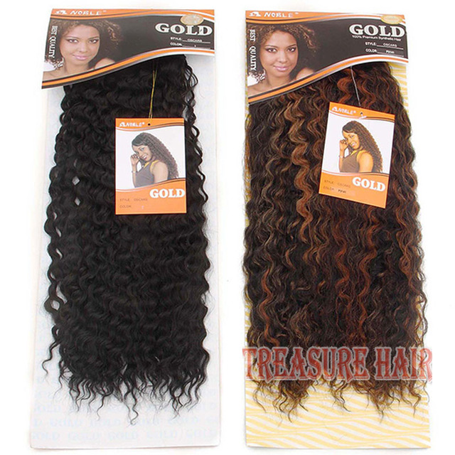 Premium Quality Noble Gold Oscars Natural Loose Curl Synthetic Hair