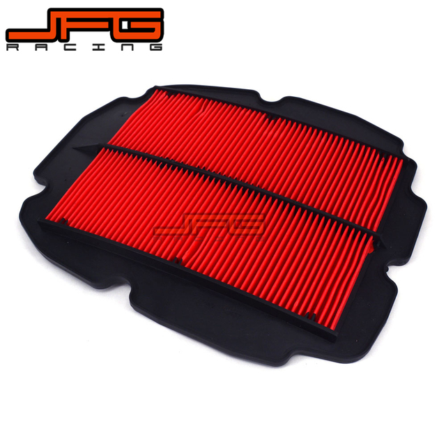 Filtro de aire fit para honda vfr800 interceptor fi 98-01 VTEC 02-09 02 03 04 05 06 07 08 09 motocicleta