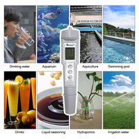 Mini 2 in 1 Aquarium Water PH&ORP Tester Monitor pH Meter Water Quality Diagnostic tool