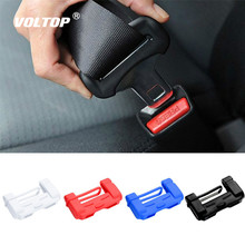 1pcs Car Safety Belt Buckle Covers Padding Anti Scratch Silicon Interior Pad Buckle Protector Seat Belts Padding Car Accessories