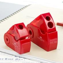 FABER CASTELL Push Pull двойная точилка для карандашей с одним отверстием и двойным отверстием многофункциональные школьные и офисные канцелярские принадлежности