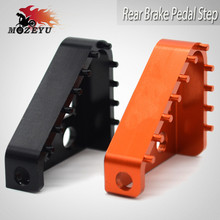 For KTM Duke R 390 RC390 Motorcycle Accessories CNC Aluminum Enlarge Foot Rear Brake Pedal Step Gear Shift Lever Tips