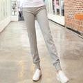 Novas Mulheres Harem Pants Algodão Outono Feminino Calças Largas Calças Femininas Inverno Sólidos Meninas Cinza Preto Sweatpants Plus Size XXL