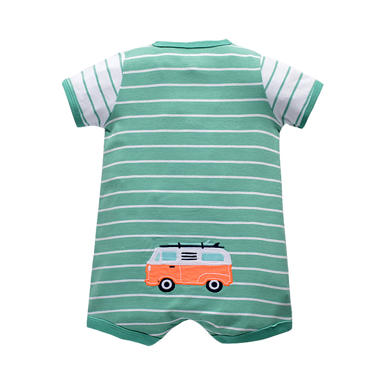 2018 baby clothes summer jumpsuit cartoon cotton for newborn baby girls dress infant fashion clothes lovely bebes boy clothes