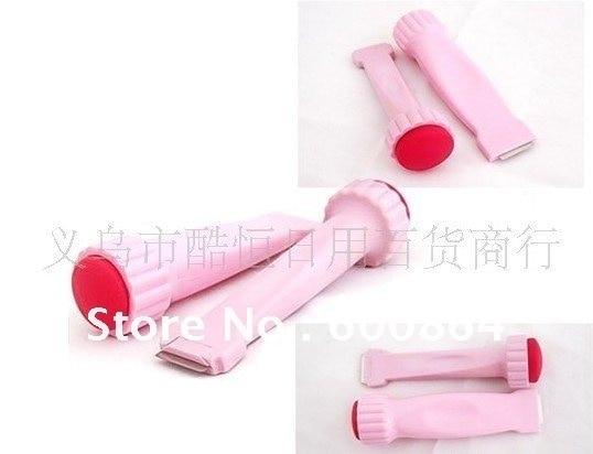NEW Pink 2 in 1 DIY NAIL ART STAMPING SET NAIL STAMPS + Scrapers Wholesales Freeshipping