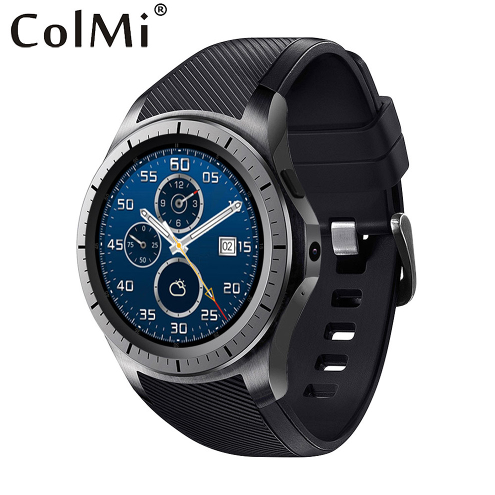 imágenes para ColMi VS119 OS Android 4.4 Descarga APP Reloj Inteligente 3G WIFI GPS Pulsómetro Podómetro Ranura Para Tarjeta SIM Empuje Mensaje Reloj