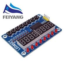 1pcs Key Display For AVR New 8-Bit Digital LED Tube 8-Bit TM1638 Modul