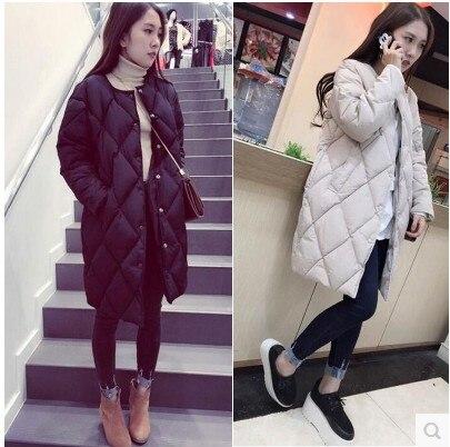 2017 Wadded Winter Jacket Women Cotton Long Jacket Fur Slim Padded Coat Outwear High Quality Warm Chaquetas Parka Feminina dashing diva runaway star