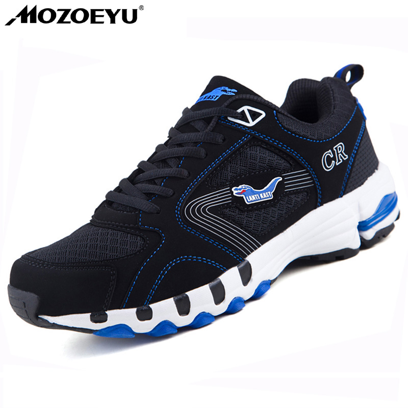 все цены на  MOZOEYU New Breathable Sport Shoes Big Size11 12 13 Mens Trainers Summer Men Shoes 2017 Men Sneakers Running Shoes for Men Round  онлайн