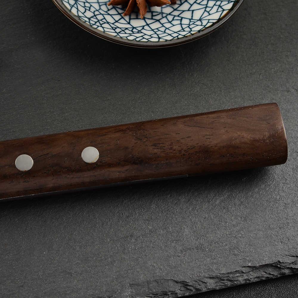 ZINZUO japonia noże szefa kuchni japoński łosoś Sushi noże ze stali nierdzewnej Sashimi nóż kuchenny surowe ryby filet warstwy gotowanie Knive