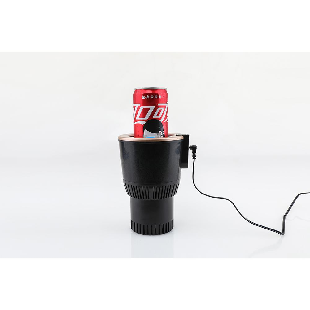 Adoolla DC12V Portable Car Freezing Heating Cp Drink Holder For Beverage Can