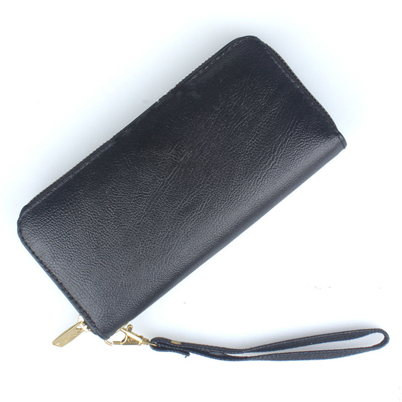 High Capacity Fashion brand Women Wallets Long PU Leather Female designer Zipper Clutch Coin Purse Ladies Wristlet bag black red 2017 brand leather wallet female purses wristlet red women wallets girls clutch women s big capacity long zipper hasp coin purse