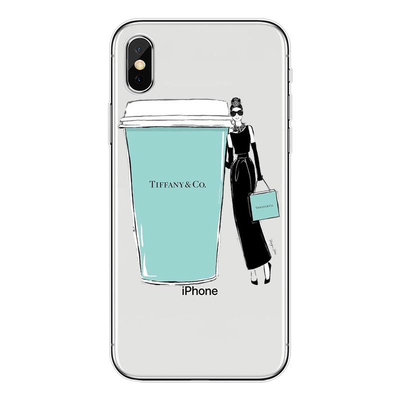 classic fit f6b9e a5752 US $1.64 43% OFF|Breakfast at Tiffany's TPU Silicone Phone Cover For iPhone  7 7Plus Case For iPhone 7 XS Max 5S SE 6 6S Plus Holly Golightly case-in ...
