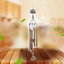 Household Retro Copper Wind Chimes Tube Rust-proof Church Blessing Metal Wall Hanging Home Decoration crafts