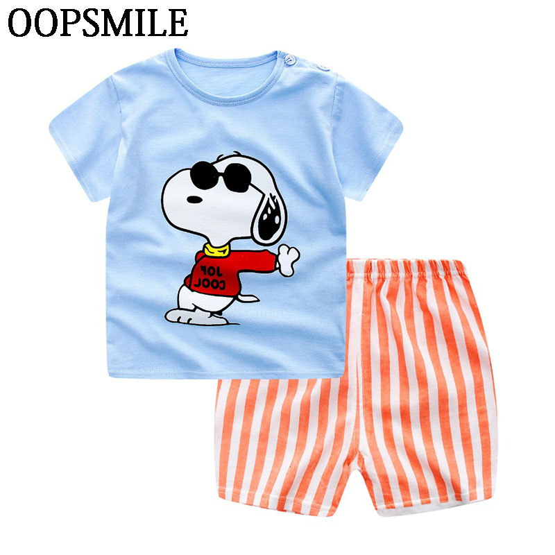 Baby Boy Clothing Set Summer New Baby Boy  infant Clothing Cotton Girls Clothing Cartoon Newborn Baby Clothes tshirt+short Pants newborn baby girls rompers cotton padded thick winter clothing set cartoon bear infant climb hooded clothes babies boy jumpsuits