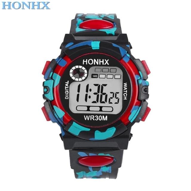 child watch sport 2018 Hot Sale HONHX Kids Child Boy Girl Multifunction child wa