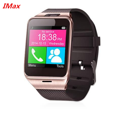 2016 Hot Smart Watch GV18 1 5 Memory card and SIM card slot Pedometer font b