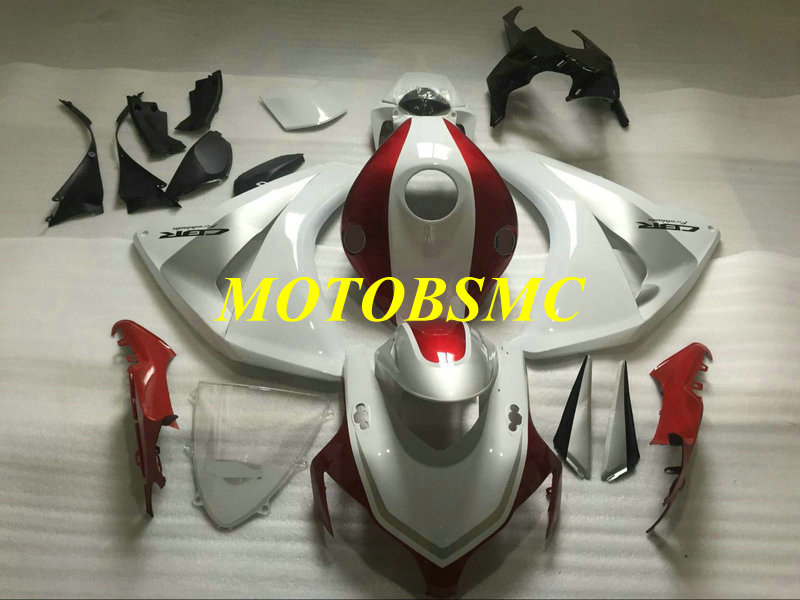 Injection mold Fairing kit for HONDA CBR1000RR 08 09 10 11 CBR 1000RR 2008 2009 2011 ABS Red white Fairings set+gifts HB27-in Covers & Ornamental Mouldings from Automobiles & Motorcycles    1