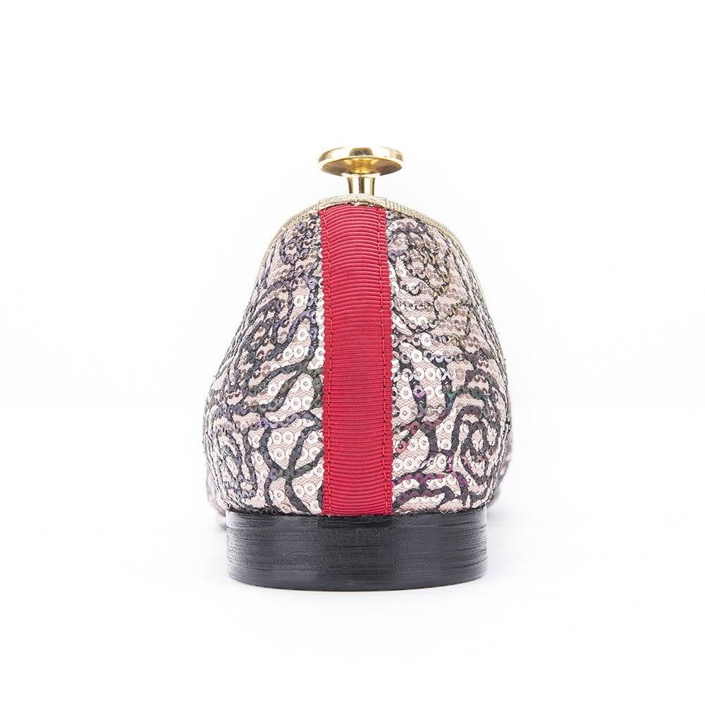 Und Mehrfach Bunte 2017 Männer Neue Ankunft Luxuriöse Loafers Rauchen Handmade Party Blumen Hausschuhe Britischen Design Stil Hochzeit atqWftn