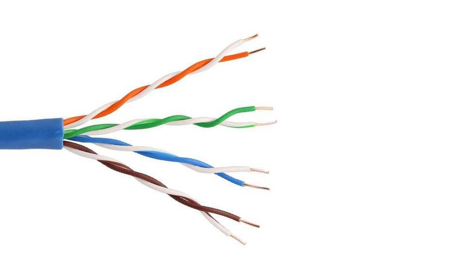 Pure oxygen free copper super six double shielded wire 8 core pure copper gigabit font b