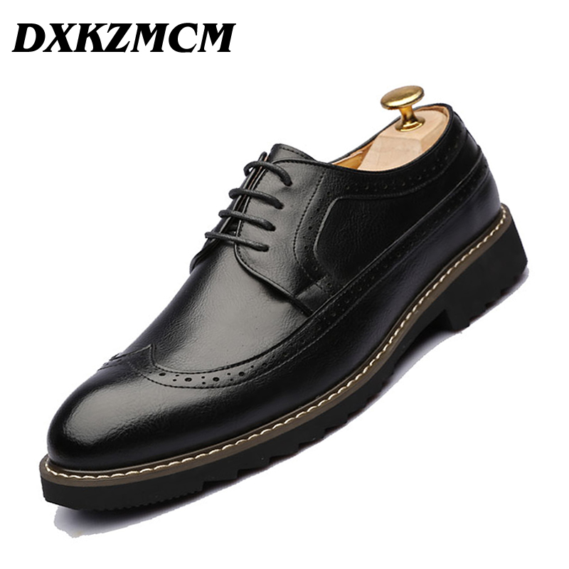DXKZMCM Mens Dress Shoes Business Shoes Men Formal Shoes Elegant Gentle Men Oxfords ...