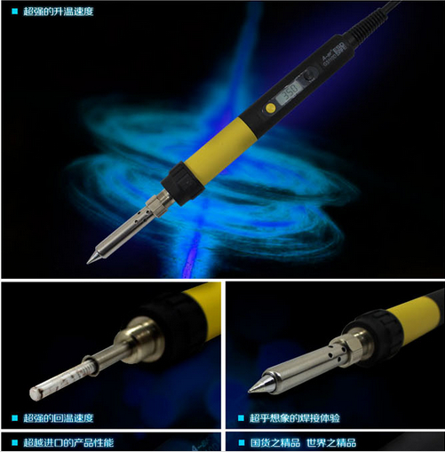 New Arrival 60w soldering iron   heat Soldering Irons stand welding electric tool iron tip A-BF GS60D 220V 60W soldering station heat soldering irons soldering stand welding electric soldering iron a bf gs110d 220v 110w