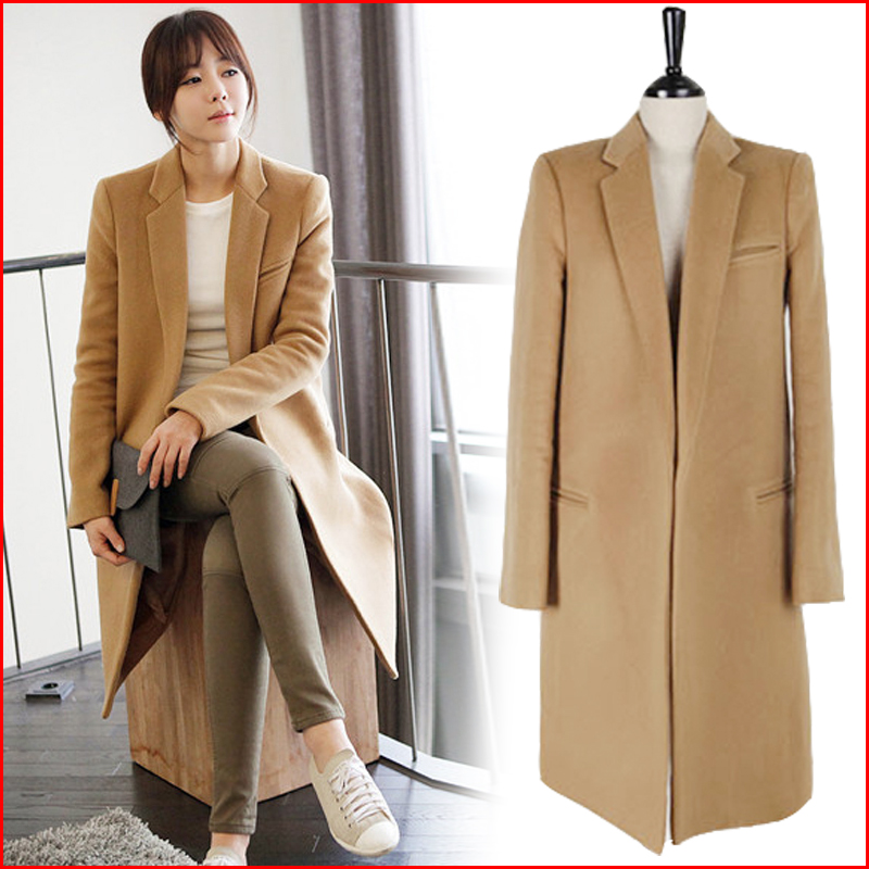 Free Shipping 2016 New autumn winter woolen coat Fashion winter ...
