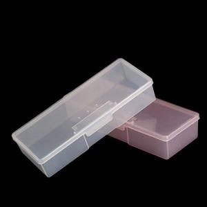 Image 2 - 1pc קעקוע להב מחט אחסון תיבת רקמה ידנית Microblading עט מלבן תצוגה ארגונית מיכל