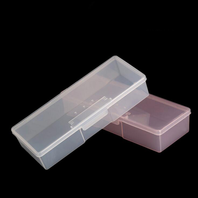 1pc Tattoo Blade needle Storage Box Manual Embroidery Microblading Pen Rectangle Organizer Display Container 1