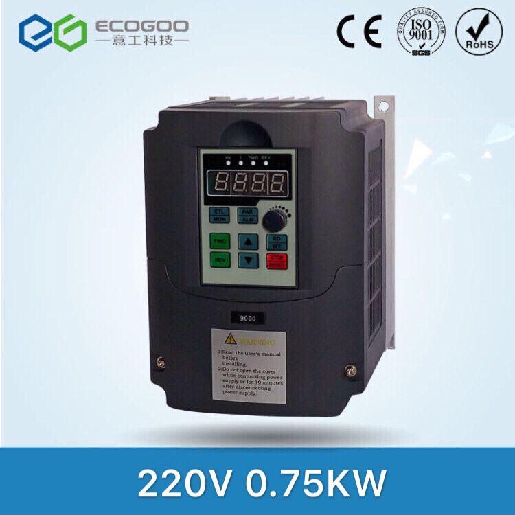 220 В 0.75kw низкая Мощность частота солнечный инвертор, dc переменного тока
