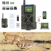 Skatolly HC550G 3g инфракрасный Охота Камера 12MP 1080 P Ночное видение Одичалых Trail Камера s Hunter Scouts игры фото ловушки Chasse