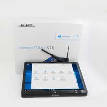 PiPO X10 Smart Android TV Box Windows 10 Mini PC Intel Z8350 Android 5 1 Dual