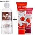 Vanessa & CO Япония личная смазка масло Интимная смазка Анальный Секс Смазка съедобные Cherry клубника крем вкус оральный секс - фото