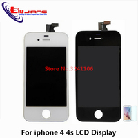XIANHUAN 10pcs Original Quality LCD Display Touch Screen Digitizer Frame Assembly For Iphone 4s 4 4g