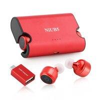 True Wireless Twins Earphones 4 2 NiUB5 Mini Invisible Wireless Bluetooth Earphone For Phone Car Call