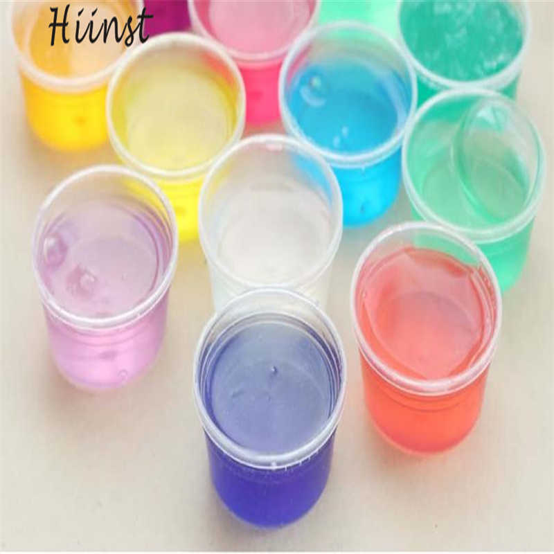 Clay Slime DIY Non-toxic Crystal Mud Play Transparent Magic Plasticine Kid Toys Brinquedos de barro Drop Shipping Gift 17Aug19