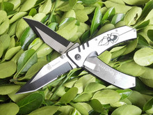 Half Tooth Folding Knife Outdoors EDC Tools Hunting Knife Camping Survival Knives 1914#