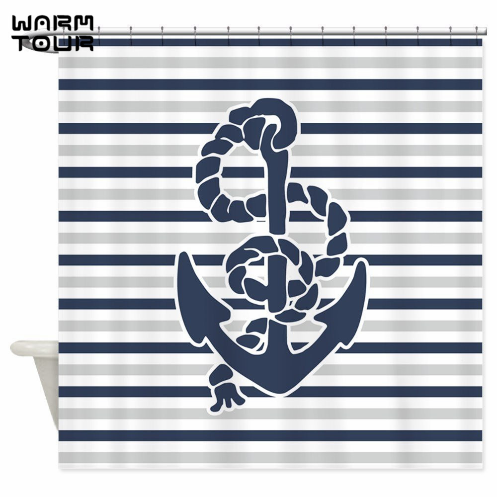 Compare Prices on Navy Blue Fabric Shower Curtain- Online Shopping ...