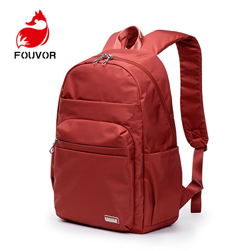 Fouvor Unisex School Bag Waterproof Nylon Brand New Schoolbag Business Men Women Backpack Bag Computer Packsack anti thief