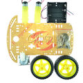 2WD motor Robot Elegante Chasis Car Kit 2 1:48 Velocidad encoder Caja de La Batería