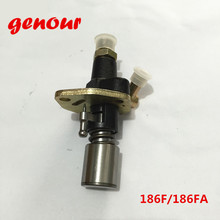 186F инжекторный насос для китайского дизельного генератора, части топливного инжектора, китайский 186F 186FA инжектор двигателя, части дизельного двигателя