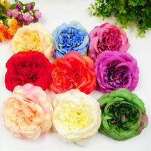 5 PCS (12 cm/a) simulation of artificial silk flowers flower heads/home garden decoration DIY wedding wreath box background