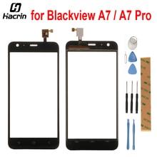 Для Blackview A7 Сенсорный экран 5,0 дюйма Стекло touch Панель планшета ремонт Запчасти для Blackview A7 про мобильный телефон + Инструменты