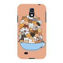 Because Cats Cute Funny Plastic Protective Shell Skin Bag Cover Case For Samsung Galaxy S5