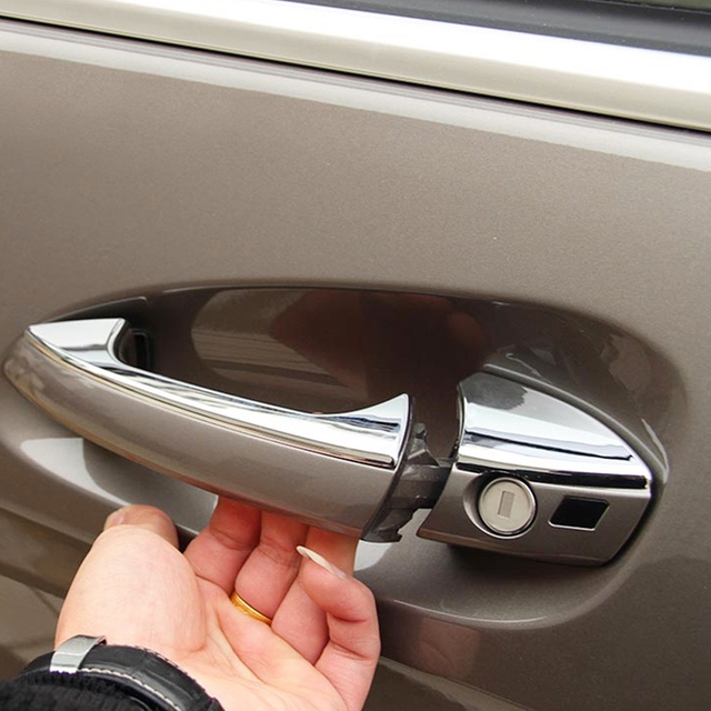 Andygo Stainless Steel Door Handle Cover For Mercedes Benz B C E Cla Glk Gl Cl E200 E250