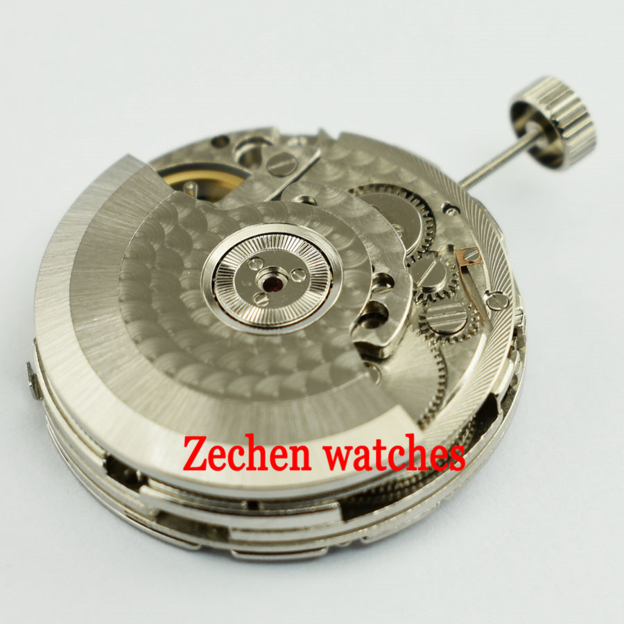 лучшая цена Goutent New Seagull 2505 Automatic Date Power Reserve Movement For Parnis Men Watch