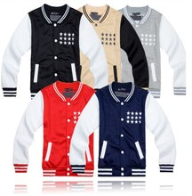 kpop EXO XOXO WOLF GROWL baseball uniform JACKETS hoodie 5 colors