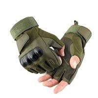 Rękawice Bojowe Biegów SWAT Army Military Tactical Paintball Tactical Turystyka Konna Jazda Na Rowerze Rękawice Half Finger Rękawice Sportowe Na Świeżym Powietrzu